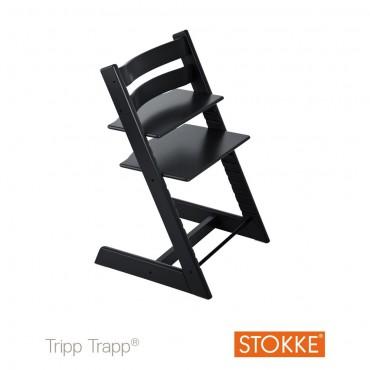 Stokke Seggiolone-Sedia TRIPP TRAPP Black