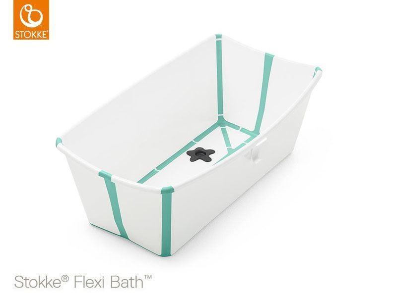 Vasca Da Bagno Stokke : Stokke flexi bath vaschetta bianco aqua la culla dei piccoli