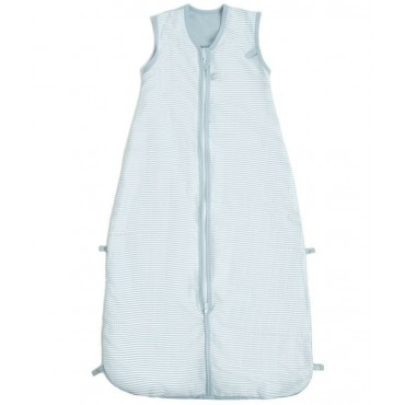Bamboom SleepingBag COMBI MUSLIN Stripe Blue