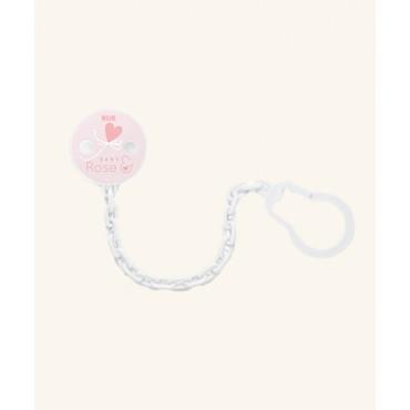 Nuk CATENELLA Portaciuccio Rose&Blue CUORE Rosa 10750590