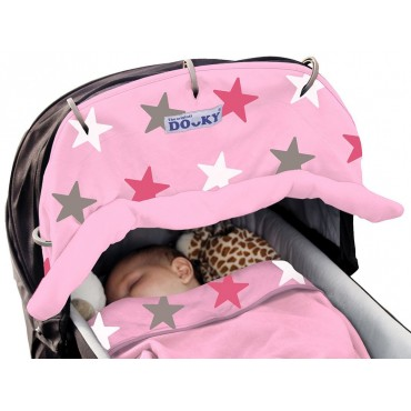Dooky Universal Cover Pink STAR 126617