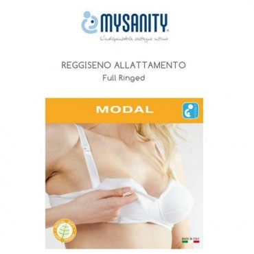 MySanity REGGISENO Allattamento FULL RINGED Coppa C Bianco 82658