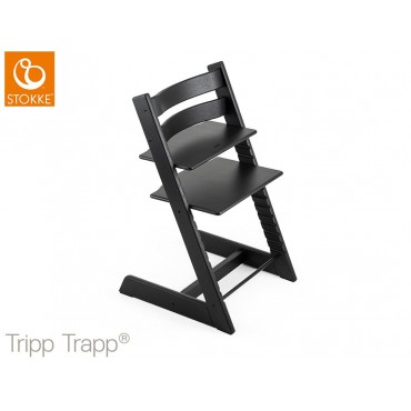 Stokke Seggiolone-Sedia TRIPP TRAPP Legno Quercia Black