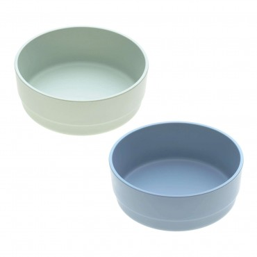 Lassig SET 2 CIOTOLE BAMBOO Mint/Blueberry