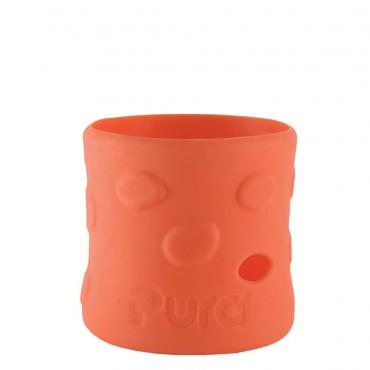 Pura Kiki Contenitore in silicone per biberon PURA 150ml Arancio