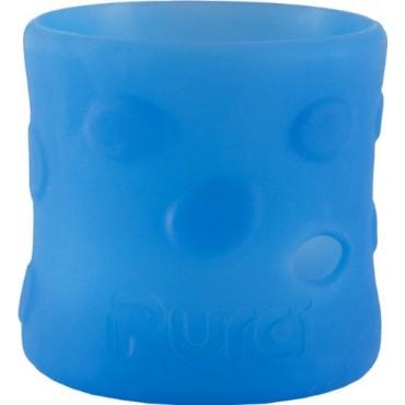 Pura Kiki Contenitore in silicone per biberon PURA 150ml Azzurro