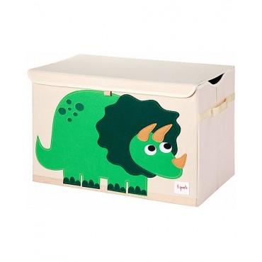 3sprouts Raccoglitore Giochi BAULE PER GIOCATTOLI Dinosauro
