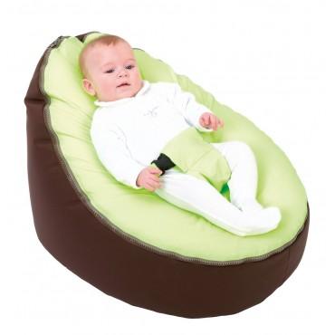 Doomoo SEAT Poltrona Super Comfort Chocolat-Lime
