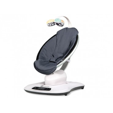 4Moms Sdraietta MamaRoo 4.0 Cool Mesh Dark Grey