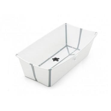 Stokke FLEXI BATH Vaschetta Bagno Pieghevole X-LARGE Bianca- Grigio