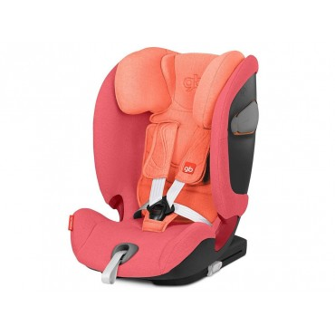 GB Seggiolino Auto 9-36kg EVERNA-FIX Rose Red