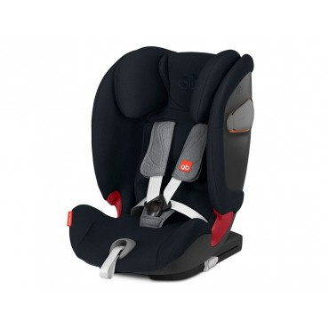 GB Seggiolino Auto 9-36kg EVERNA-FIX Velvet Black