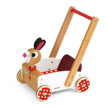 Janod Carrello Crazy RABBIT J05997