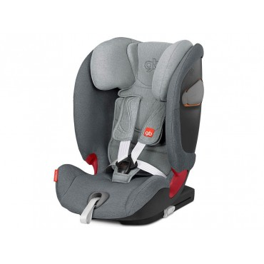 GB Seggiolino Auto 9-36kg EVERNA-FIX London Grey
