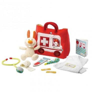 Lilliputiens La Borsetta Ambulanza del Piccolo Dottore 86520