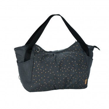 Lassig Borsa-Fasciatoio Gemellare CASUAL TWIN Triangle Dark Grey