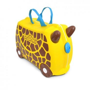 Trunki VALIGIA Cavalcabile Gerry Giraffa Giallo