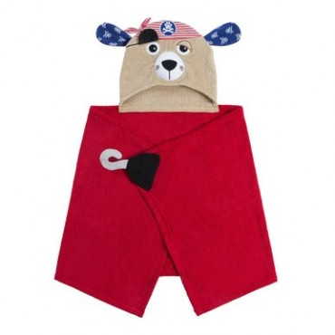Zoocchini ACCAPPATOIO Kids PIRATE The Dog 111116