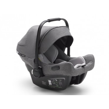 Bugaboo Seggiolino TURTLE AIR by Nuna Grey Melange