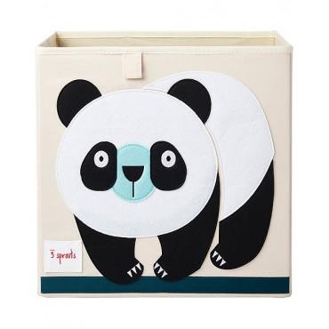 3sprouts STORAGE BOX Portaoggetti PANDA