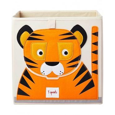 3sprouts STORAGE BOX Portaoggetti TIGRE