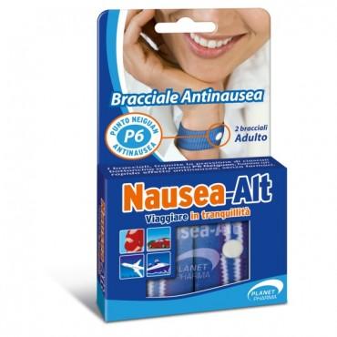 Planet Pharma NAUSEA ALT Bracciale Antinausea Adulti