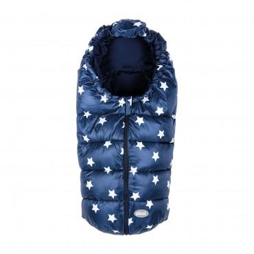 Picci sacco termico Carrozzina/Ovetto THERMO SMALL blu stelle