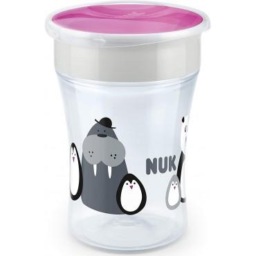 Nuk Tazza MAGIC CUP 230ml Limited Edition Bianco-Viola 10255531