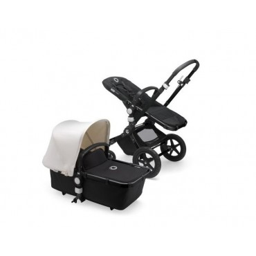 Bugaboo Cameleon 3 Plus Complete Black-Fresh White 230311ZW02