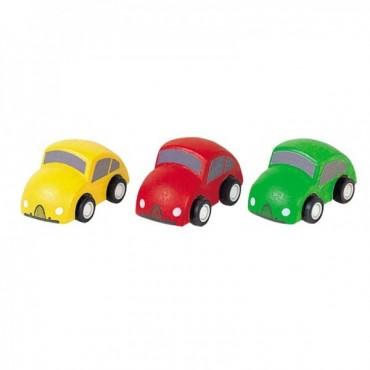 Plan Toys 3 Mini Auto in Legno 6024