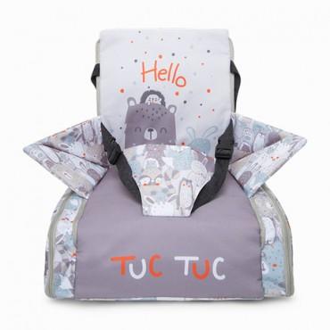Tuc Tuc BORSA-ALZASEDIA Ready & Go Friends Grigio 12051834
