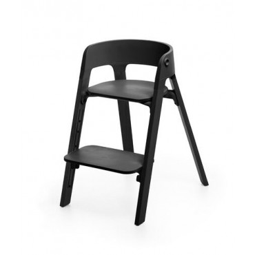 Stokke Sedia STEPS Black Seat / Black Legs 349706