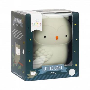 A Little Lovely Company LUCE ANTIBUIO Mini Gufo
