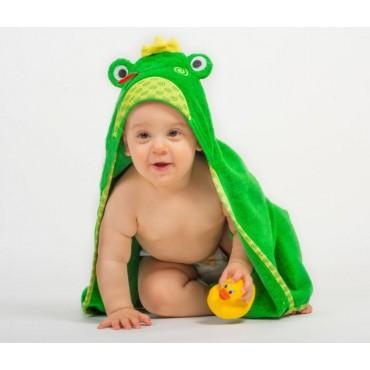 Zoocchini Asciugamano Baby Flippy la Ranocchia