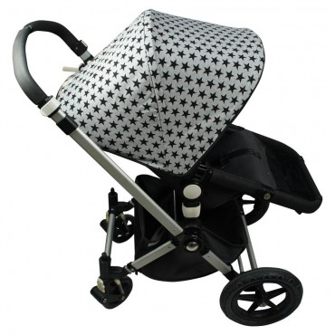 Fun*Das CAPPOTTINA Bugaboo Camaleon Black Star C05