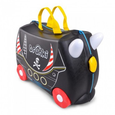 Trunki VALIGIA Cavalcabile Pedro Pirate Black