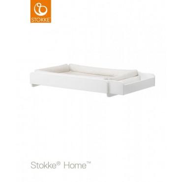 Stokke Home CHANGER Fasciatoio con Materassino Bianco