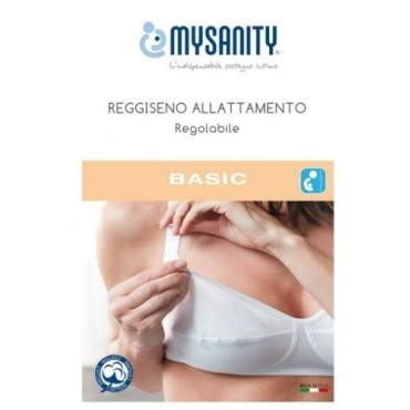 MySanity REGGISENO ALLATTAMENTO Regolabile Basic Bianco Coppa C 82740