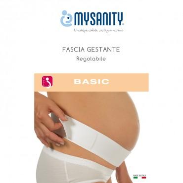 MySanity FASCIA GESTANTE REGOLABILE Bianco 82730
