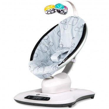 4Moms Sdraietta MamaRoo 4.0 Silver Plush