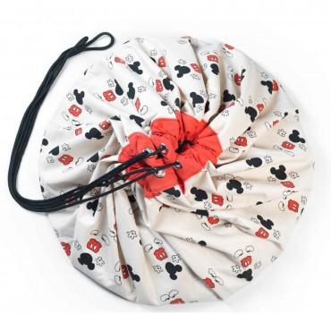Play & Go TAPPETO E SACCO PORTAGIOCHI Disney Mickey Cool PG028