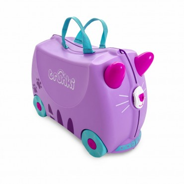 Trunki VALIGIA Cavalcabile CASSIE Candy Cat Lilla