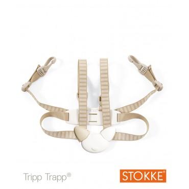 Stokke Tripp Trapp HARNESS Cintura 4 punti Beige