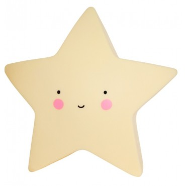 A Little Lovely Company LUCE ANTIBUIO Mini Star Yellow