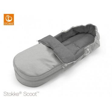 Stokke Sacco Coprigambe SOFTBAG per passeggino SCOOT Grey Melange